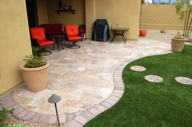 15 best Travertine patios images on Pinterest | Travertine ... on Travertine Patio Ideas id=88685