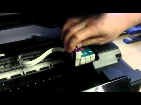 how to reset chip on the epson 810 with low ink - Bing Videos