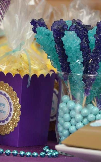 Princess Jasmine Birthday Party favors! See more party planning ideas at CatchMyParty.com!