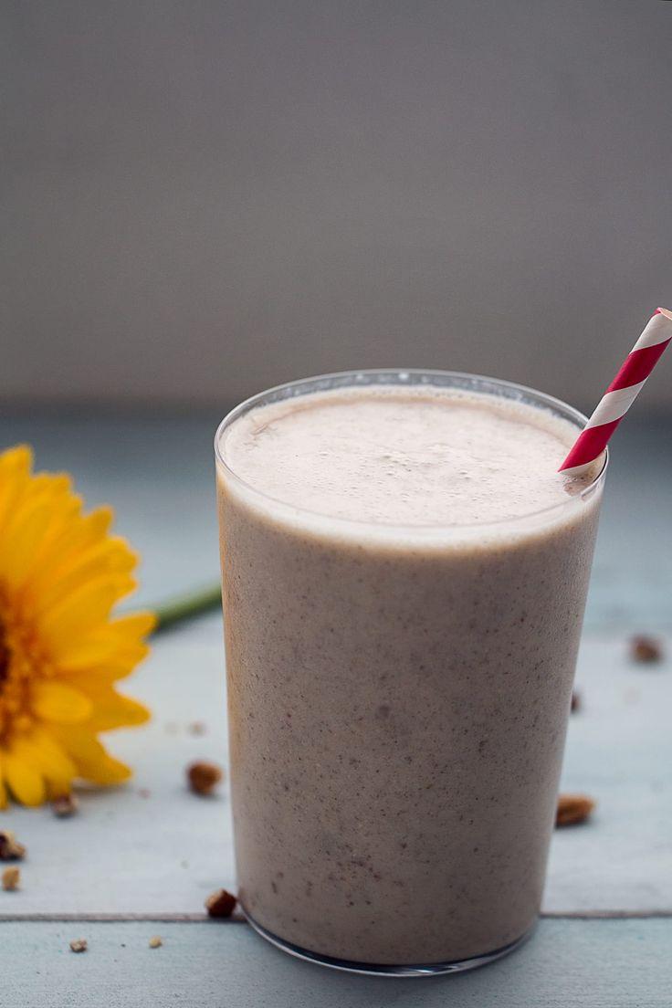 Skinny Banana Cream Pie Smoothie Recipe - 387 Calories