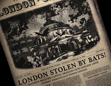 The London Gazette after the Fall