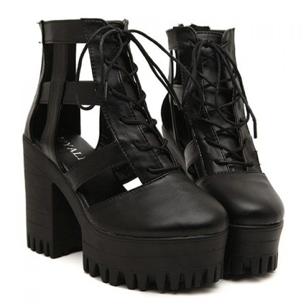 Platform boots melbourne