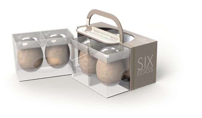 Multifunctional egg packaging slide out cook serve for Design your own egg boxes