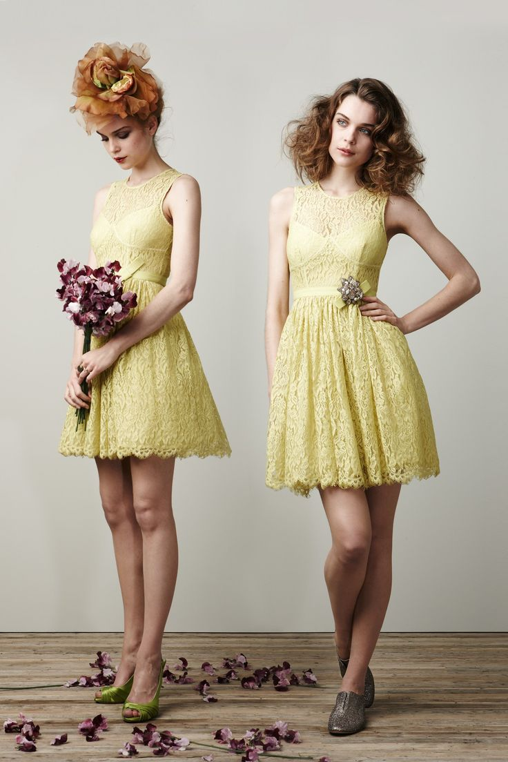 The 25 best pale yellow bridesmaid dresses ideas on pinterest pale yellow lace bridesmaid dresses ombrellifo Choice Image