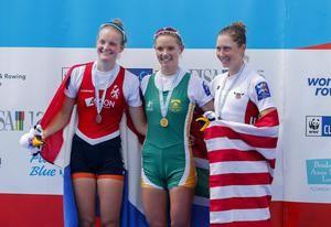 Vrijdag 29 sept WK roeien: zilver.  Marieke Keijser heeft in de lichte skiff bij de WK roeien in Florida zilver veroverd. De 20-jarige Nederlandse versnelde na 700 meter vanaf de vierde positie. Halverwege nam ze zelfs de leiding maar die moest ze 300 meter voor de finish weer prijsgeven.