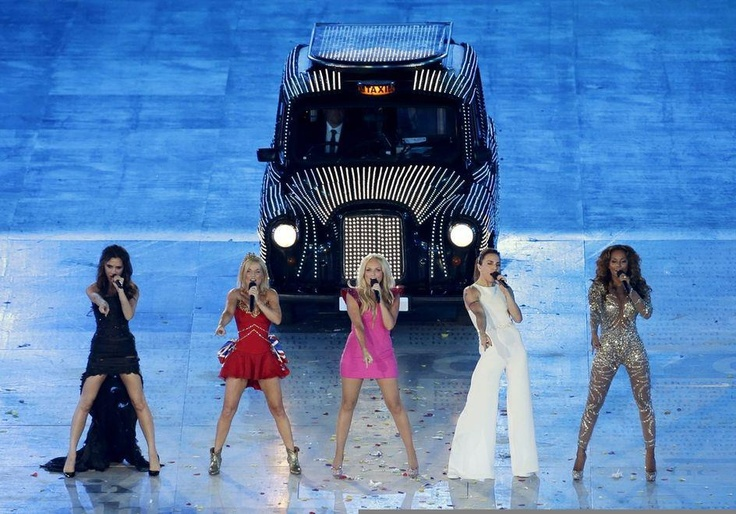 The Spice girls, the iconic pop band of the 1990s.  Credit: AP / Hassan Ammar