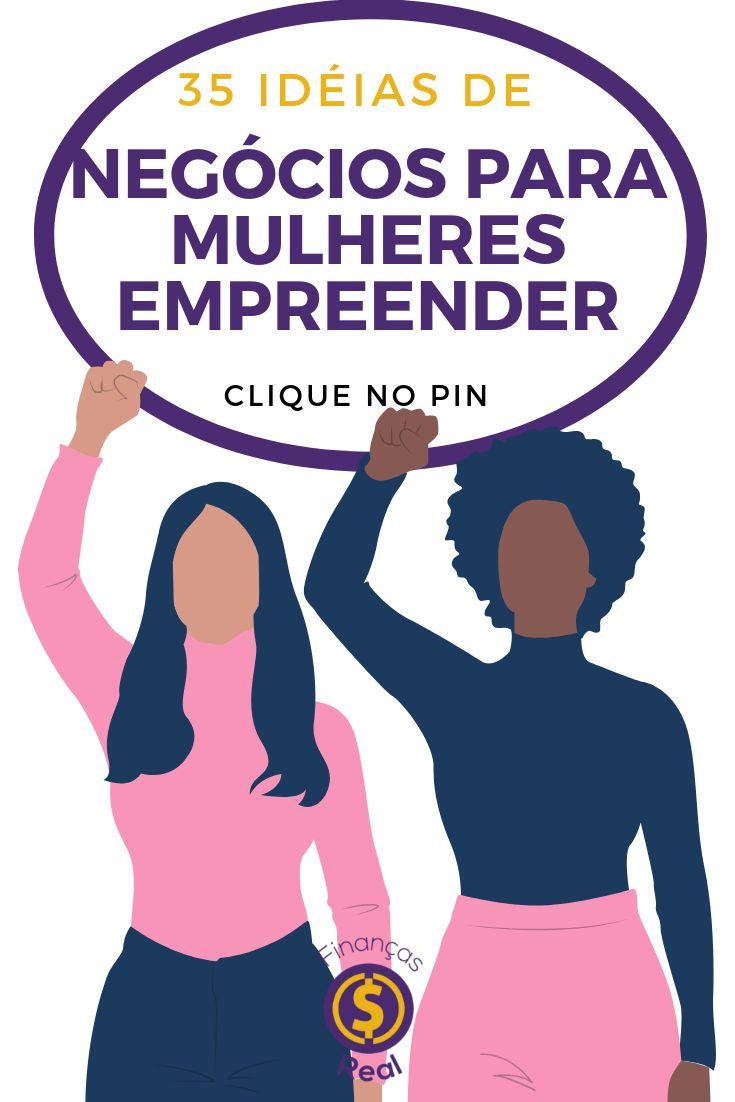 35 ideias de negócios para mulheres empreender