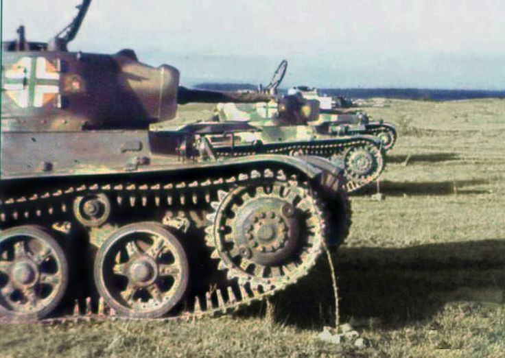Hungarian Toldi tanks on line.