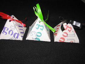 Hemgjord: Presentförpackning