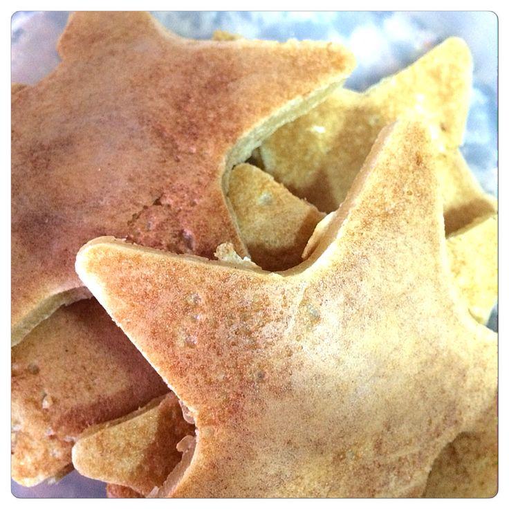 Tortillas estrella. Food. Comida creativa.