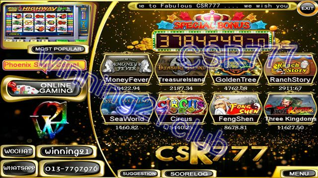 W21 Csr777 The Best Online Slot Games In Malaysia Fun Online Games Online Games Slots Games