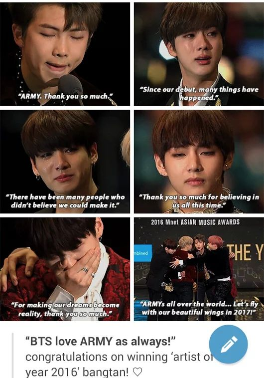 I am soo proud of them and i am mostly proud of the man who lead the team, my husband to be, Kim Namjoon.