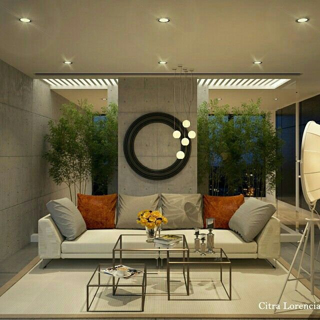 Grey livin room