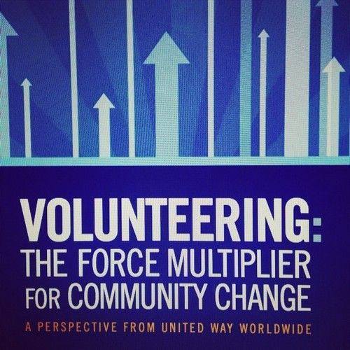 new report shows volunteering is on the rise at united way united wayfundraising ideasthe rise
