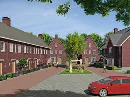 Joris van Santen Hier zie je een mooi voorbeeld van een gezellige nieuwbouwwijk.