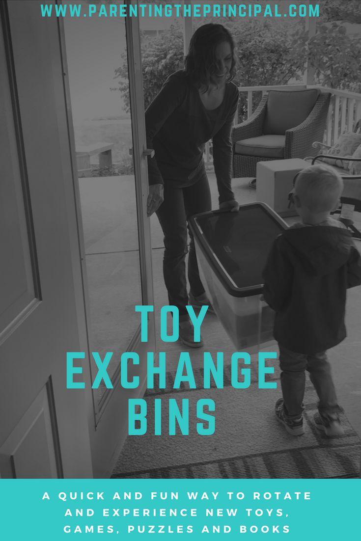 Toy Exchange Bin