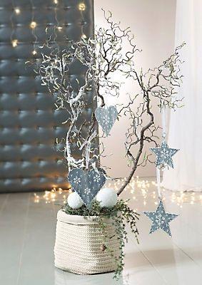 Korkenzieherhasel im universal online shop weihnachtsideen korken deko weihnachten und - Schiebegardine weihnachten ...