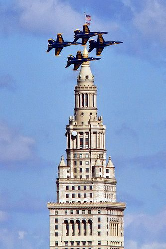 Buzz the Tower  Edgewater - Cleveland, Ohio