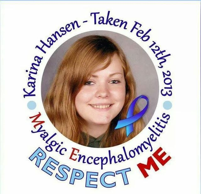 me/cfs  very sad story Me, myself and M.E: Justice for Karina Hansen