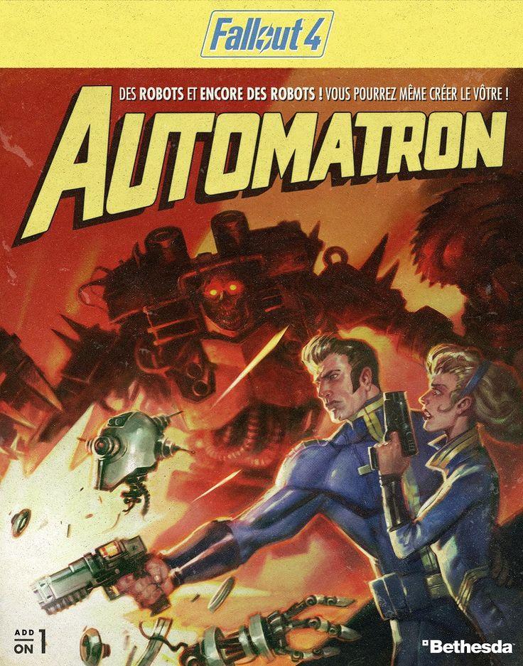 Dévoilée il y a un mois, la série de DLC de Fallout 4 va commencer dès le 22 Mars prochain avec Automatron. Dans cette première extension, vous devrez combattre une armée de robots destructeurs lâchés dans le Commonwealth par le très dangereux Cérébrobot. Histoire d'être à armes égales, vous aurez la possibilité de récupérer des pièces pour construire vos propres robots.