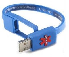 Carry your Medical Info on your Wrist with the CARE Medical History Bracelet. For sure, you've seen TV shows or movie scenes wherein during 911 cases like accident or medical emergencies, the 911 team that responds to the scene asks relatives or friends of the victim about his/her medical history. http://www.geekiegadgets.com/2012/carry-your-medical-info-on-your-wrist-with-the-care-medical-history-bracelet/