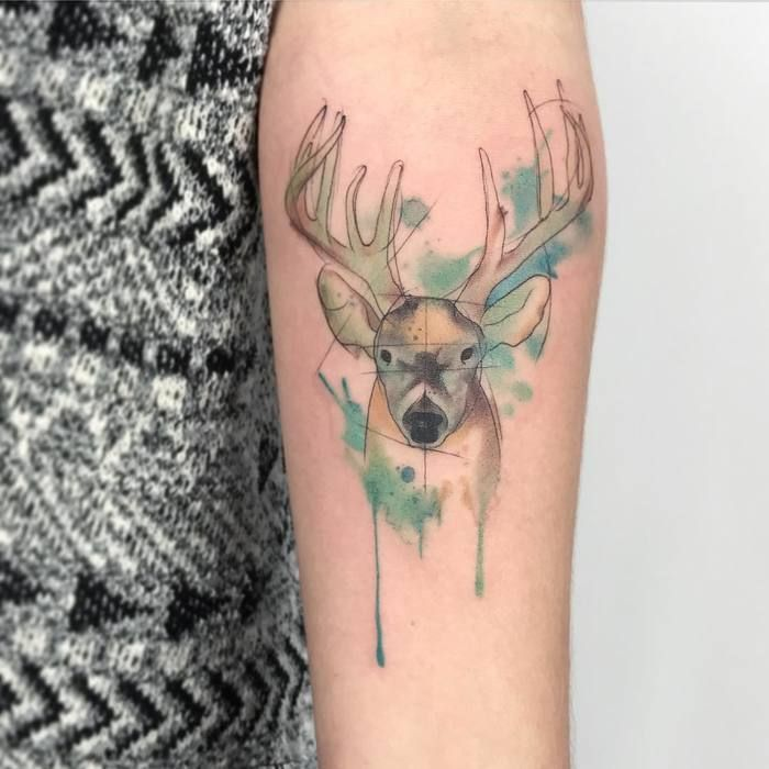 41 best images about watercolor tattoos on
