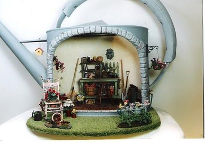 1000 Images About Miniature Sheds On Pinterest