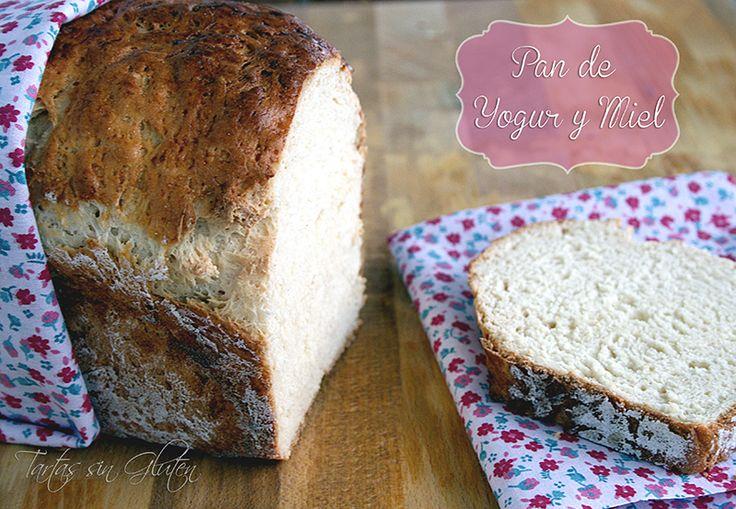 Tartas sin Gluten .....365 dias sin gluten: Pan de Yogur y Miel ( Sin Gluten )