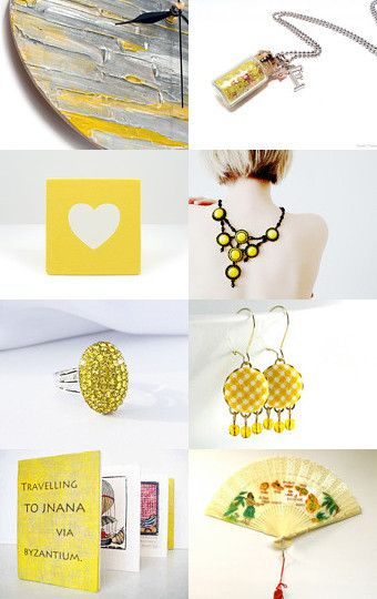 Yellow May by Aniko on Etsy--Pinned with TreasuryPin.com