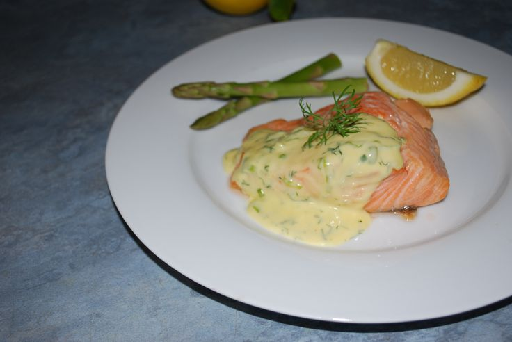 Ocean Trout with a creamy dill sauce