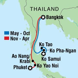 The Best Thailand Beaches