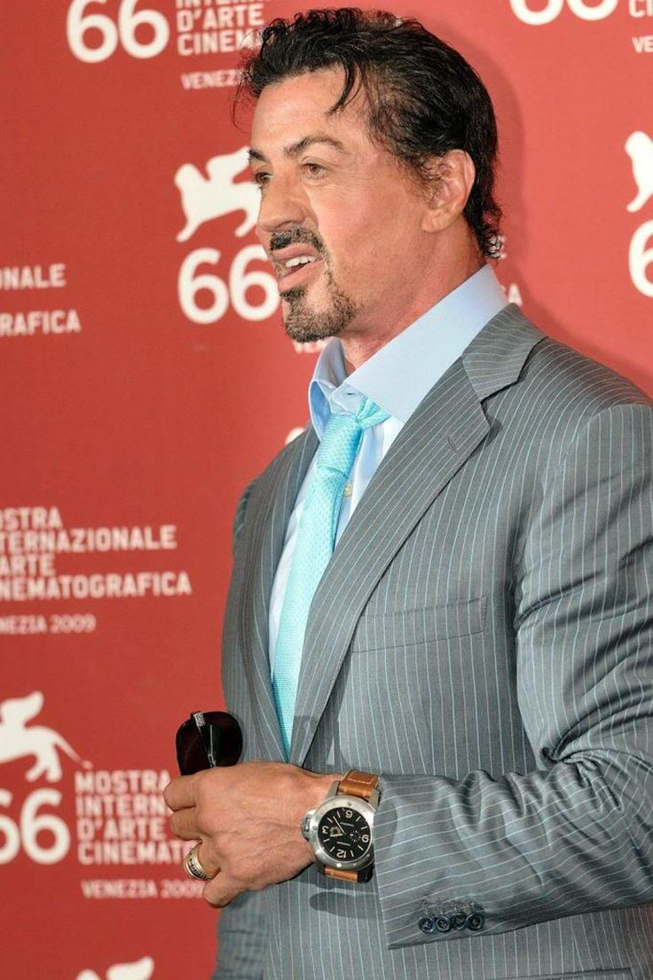 of pinterest horologue channel images fan stallone panerai on sylvester watches and wrist celebrity celebs cinema best big