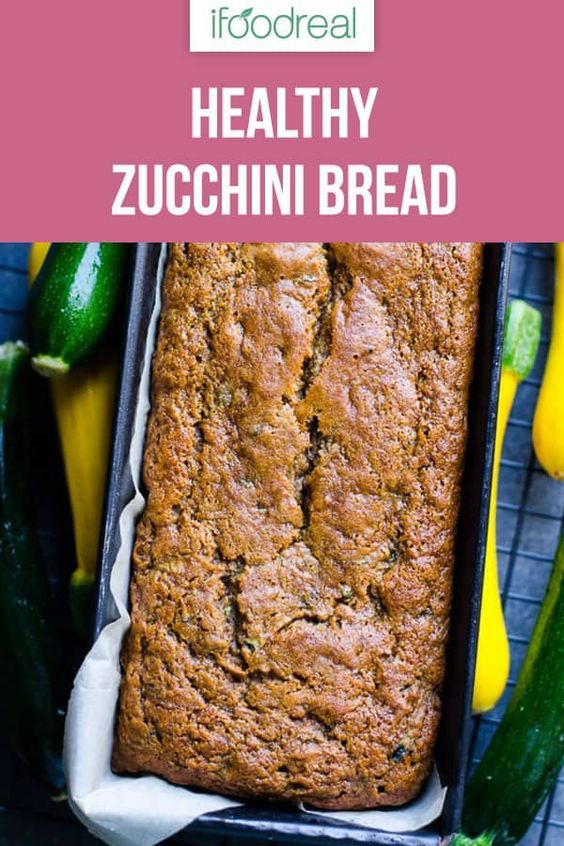 Healthy Zucchini Bread Recipe With Applesauce Whole Wheat Or Spelt Flour And Honey Super Zucchini Bread Healthy Zucchini Bread Recipes Healthy Bread Recipes