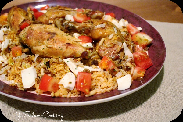 Kabsa is the main traditional dish of Saudi Arabia. While the ingredients may be long, this recipe is anything but hard. Each spice used in this recipe is a popular Middle Eastern spice so the combining spices make this dish about as authentic as you can get.