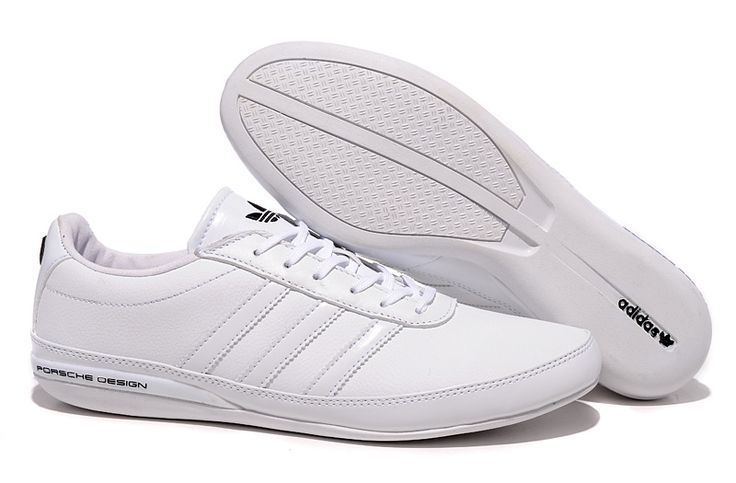 Sweetheart Adidas Porsche Bounce S3 Men Running Shoes In White, High Quaity