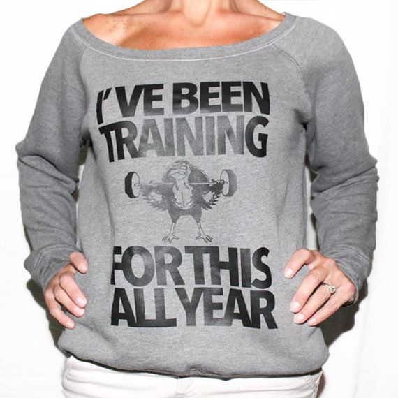 Training Day Happy Thanksgiving Sweater. UGLY by SheSquatsClothing