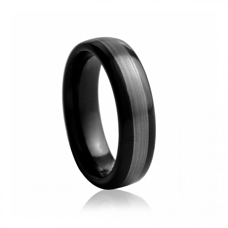 Black Tungsten Mens Wedding Band | Diamond Corporation South Africa