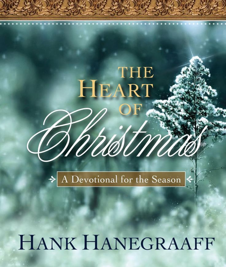 The Heart of Christmas: A Devotional for the Season by Hank Hanegraaff. Have Yourself a Historical and Inspirational Christmas!  Let the Christ of Christmas prepare your heart for the celebration of His birth through a devotional journey beginning December 1st and climaxing Christmas day.  Each of the twenty-five devotions includes a Scripture reading, carol, and questions for meditation and discussion.  The acronym C-H-R-I-S-T-M-A-S (Christ, History, Resurrection, Incarnation, Santa Claus…