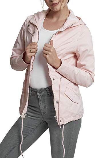 d0bd4993625947 Urban Classics Damen Parka Ladies Basic Cotton: - herbst outfit damen  outfit ideen mode herbst
