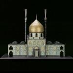 Templos religiosos feitos com armas e munição
