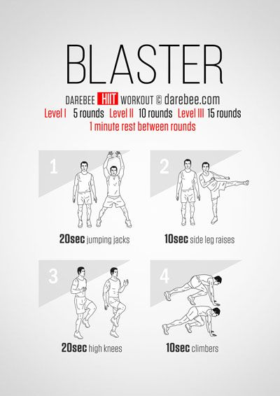 Blaster Hiit Workout