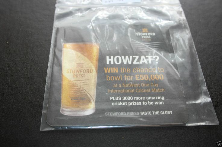 2011 Beermat Westons Cider (Stowford Press) Cat 056 (05/14 1D98)