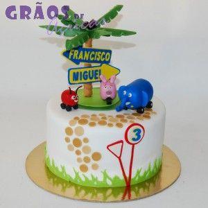 Selva Sobre Rodas | 3D | bolo francisco | Grãos de Açúcar - Bolos decorados - Cake Design