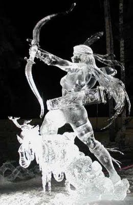 Miscellaneous: ICE SCULPTURES (INTERESTING)