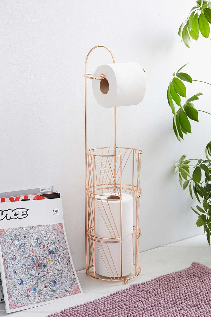 Urban Outfitters copper tp holder