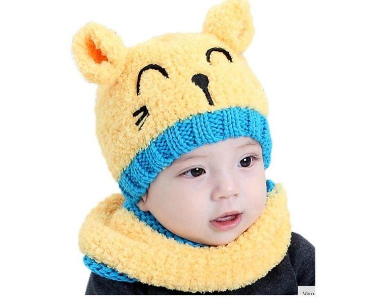 Gorro infantil Lá de malha trico Gato, com cachecol  Cores: amarelo, vermelho, rosa , bege  Crianças de 1 a 3 anos  ? tamanho: regular (largura: 20 cm, altura: 18 cm)   Produto Importado  Entrega: até 60 dias https://www.elo7.com.br/gorro-infantil-la-trico-gato/dp/917C45