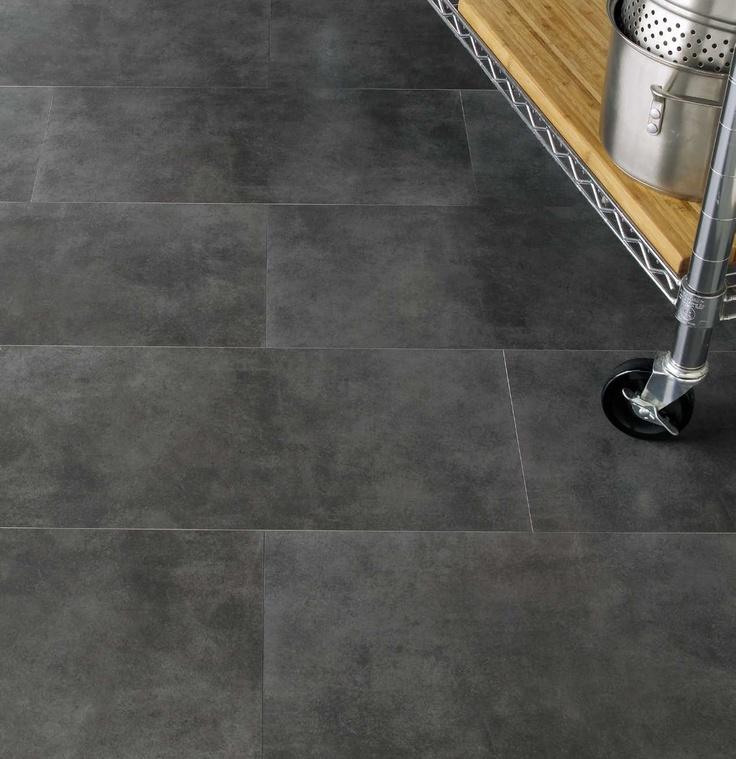 Glazed concrete floor. Ciment teinté très intéressant