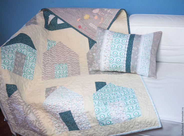 """Купить Набор для детской """"Нежность"""" - одеяло, лоскутное одеяло, лоскутное покрывало, детское одеяло"""