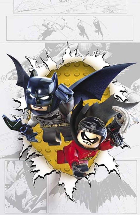Batman and Robin #36. DC Comics Theme Month LEGO Variant Covers (November 2014) | DC Comics