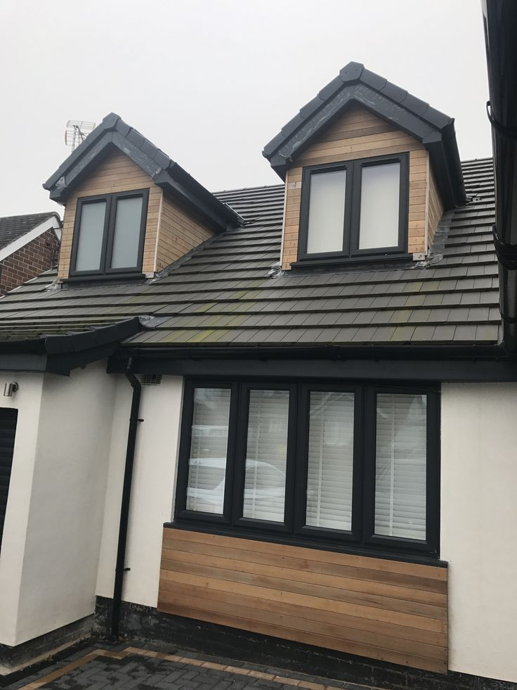 Anthracite Grey Upvc double glazed windows a rated a standard. Installed in Nuthall, Nottingham. For a free quotation call us on 01158 660066 visit http://www.thenottinghamwindowcompany.co.uk/ or pop into our West Bridgford showroom. #Nottingham #Upvc #Nuthall #Double #Glazing #RAL